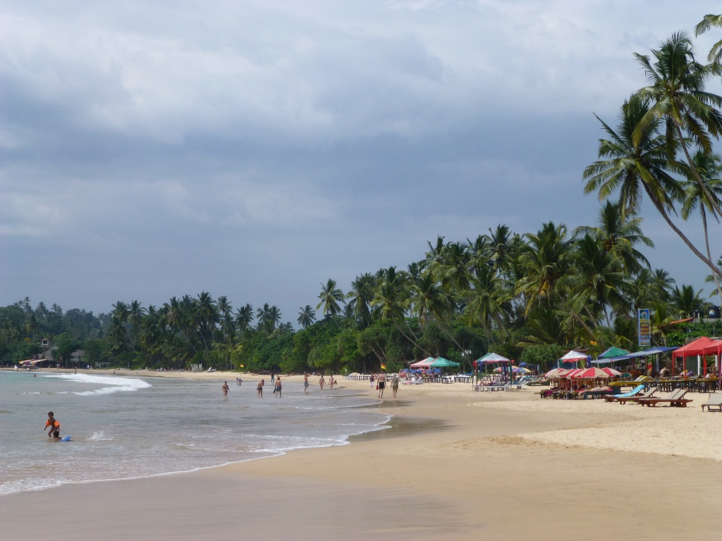 Enjoy beach activities at mirissa beach in sri lanka