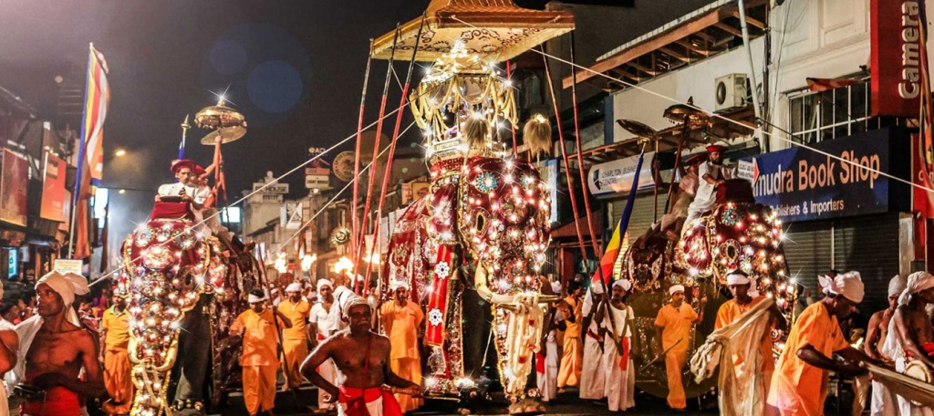 Festival of the tooth in Kandy Sri Lanka